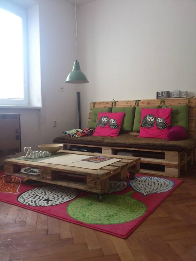 Nábytok z paliet - Dorka Kováčiková - kreativita.info