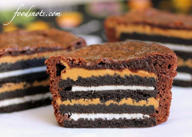 Oreo arasidove maslo brownie muffin kreativita 6