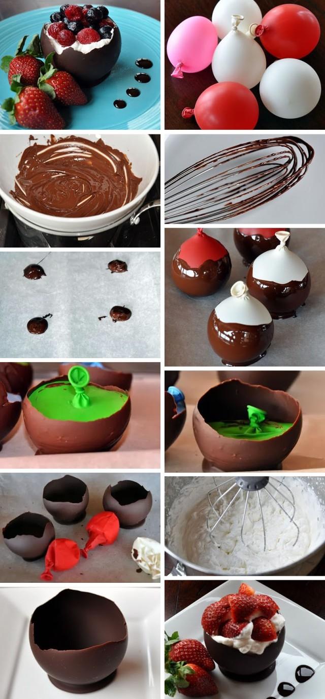 recept cokoladova misa so slahackou a ovocim
