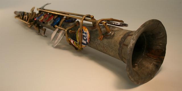 Landfill Harmonic Orchestra recyklovane hudobne nastroje 3