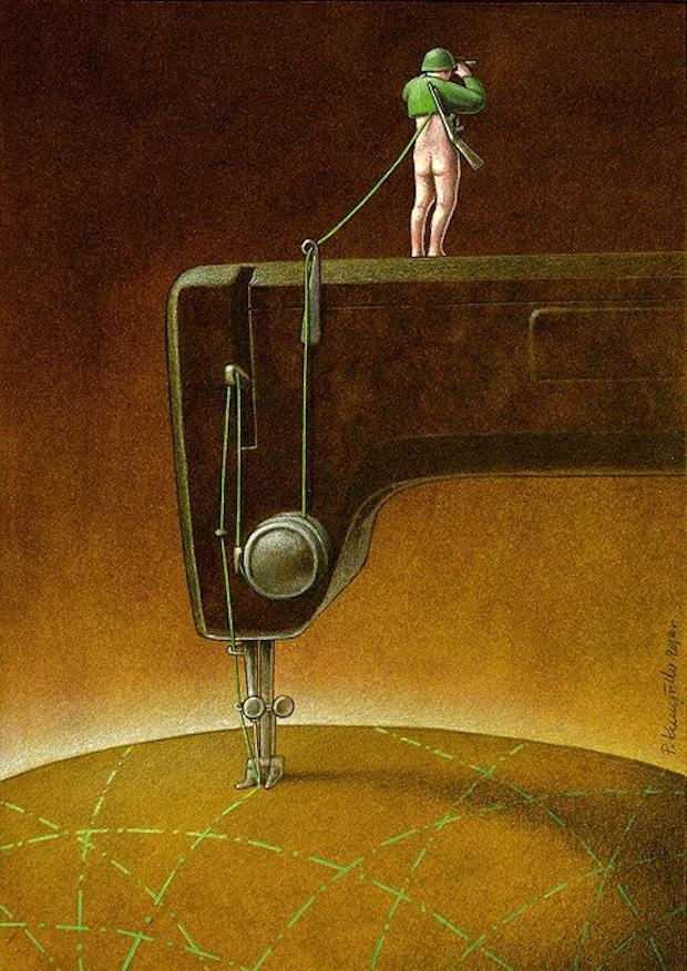 Pawel Kuczynski satiricke ilustracie 12