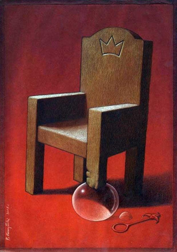 Pawel Kuczynski satiricke ilustracie 14