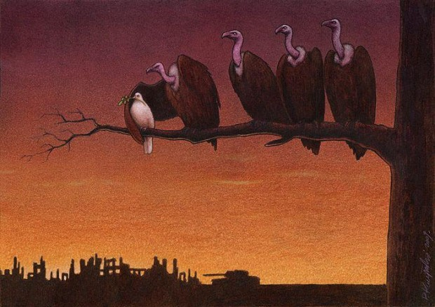 Pawel Kuczynski satiricke ilustracie 17