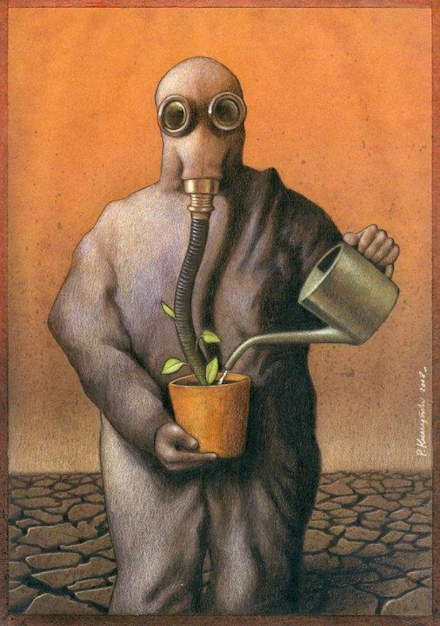 Pawel Kuczynski satiricke ilustracie 19