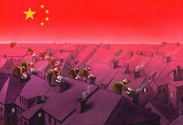 Pawel Kuczynski satiricke ilustracie 2