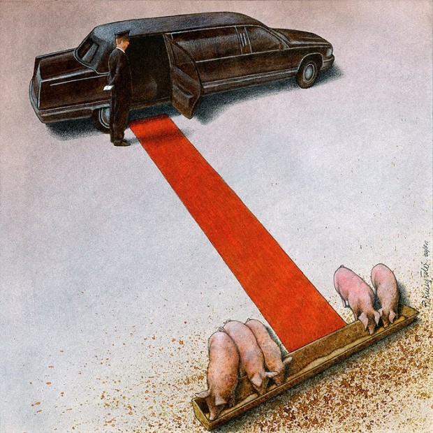 Pawel Kuczynski satiricke ilustracie 21