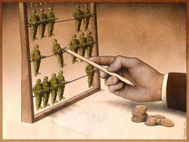 Pawel Kuczynski satiricke ilustracie 23