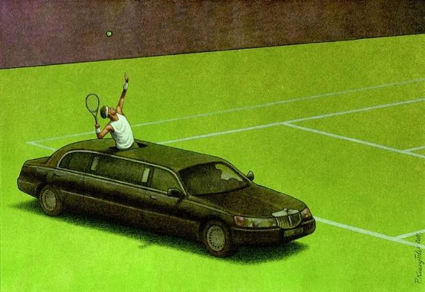 Pawel Kuczynski satiricke ilustracie 26