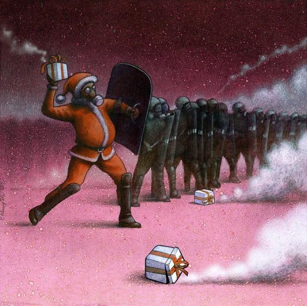 Pawel Kuczynski satiricke ilustracie 29