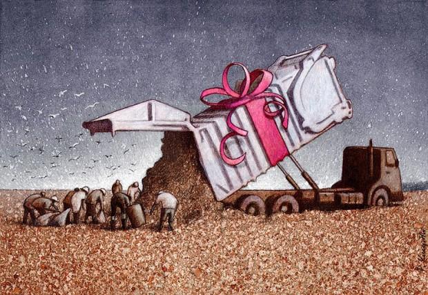 Pawel Kuczynski satiricke ilustracie 31