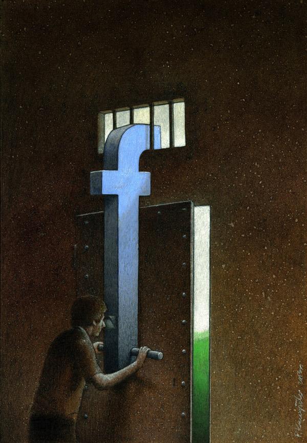 Pawel Kuczynski satiricke ilustracie 36
