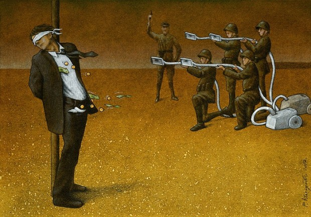 Pawel Kuczynski satiricke ilustracie 37