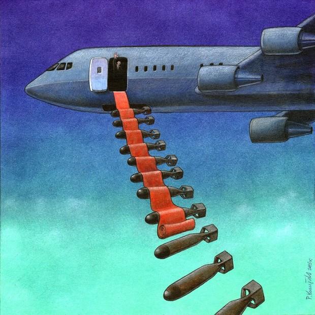 Pawel Kuczynski satiricke ilustracie 38