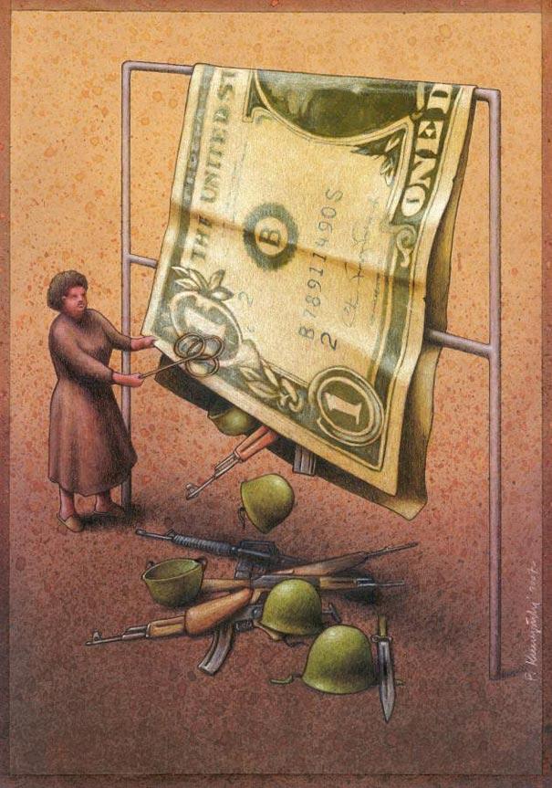 Pawel Kuczynski satiricke ilustracie 40