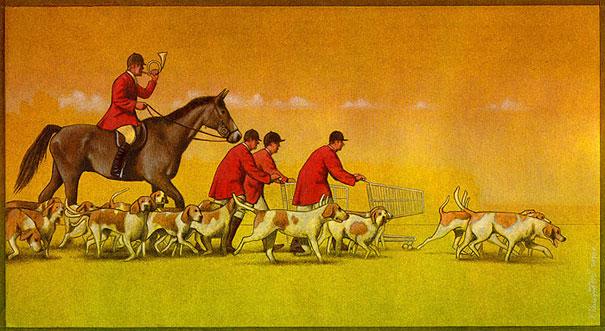 Pawel Kuczynski satiricke ilustracie 44