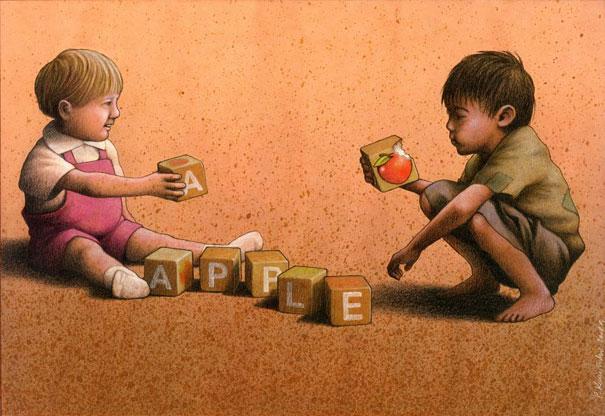 Pawel Kuczynski satiricke ilustracie 45