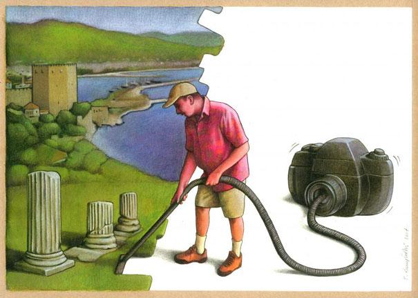 Pawel Kuczynski satiricke ilustracie 48