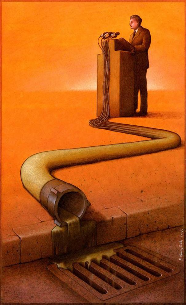 Pawel Kuczynski satiricke ilustracie 5