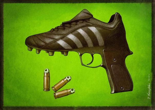Pawel Kuczynski satiricke ilustracie 51