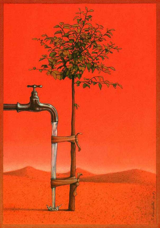 Pawel Kuczynski satiricke ilustracie 54