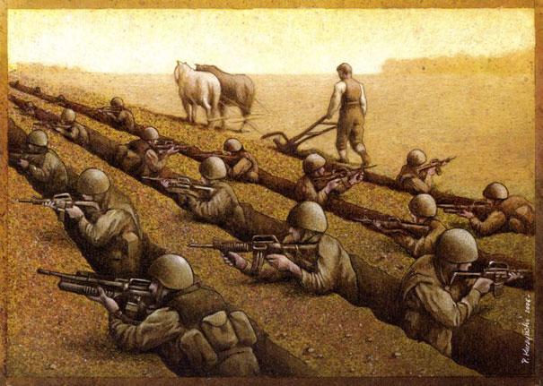 Pawel Kuczynski satiricke ilustracie 55
