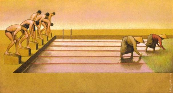 Pawel Kuczynski satiricke ilustracie 57