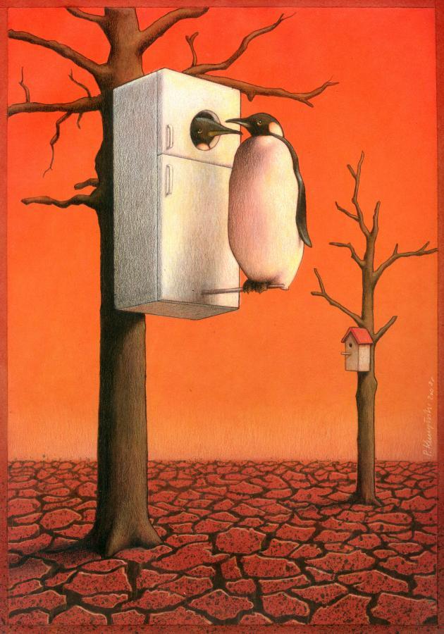 Pawel Kuczynski satiricke ilustracie 58