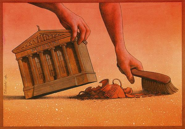 Pawel Kuczynski satiricke ilustracie 60