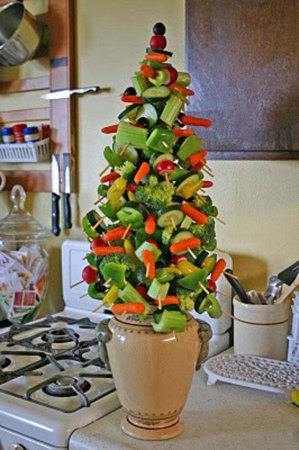 Zeleninovy vianocny stromcek 2