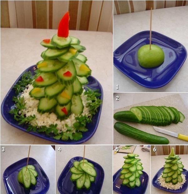 Zeleninovy vianocny stromcek 5