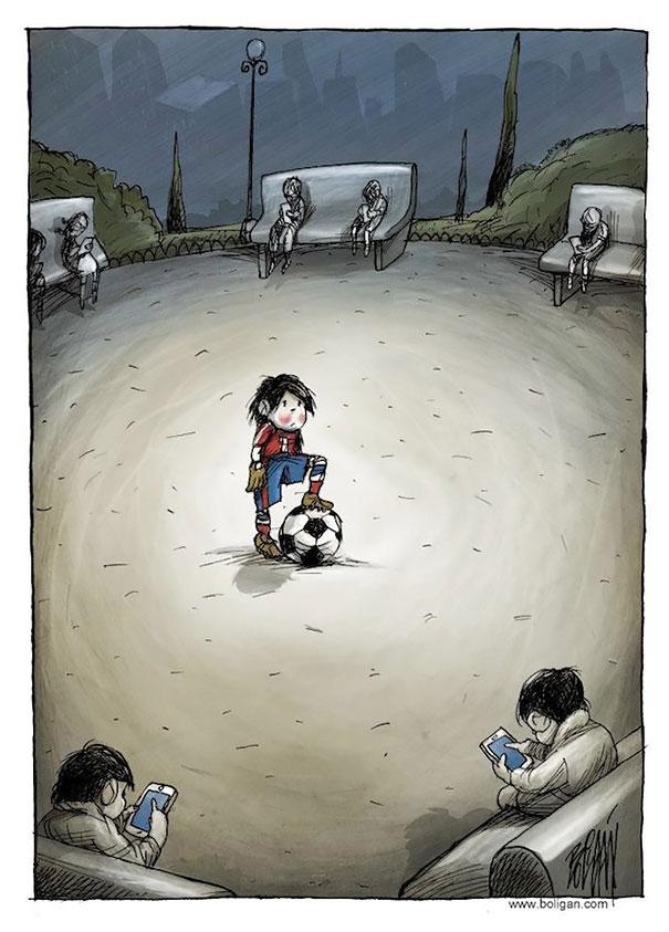 Angel Boligan surrealisticke karikatury 1