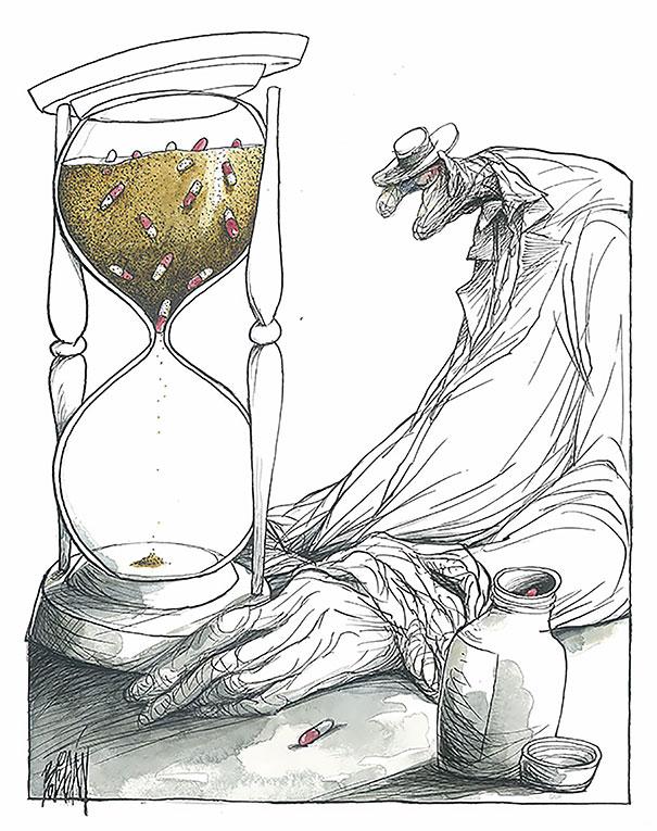 Angel Boligan surrealisticke karikatury 10