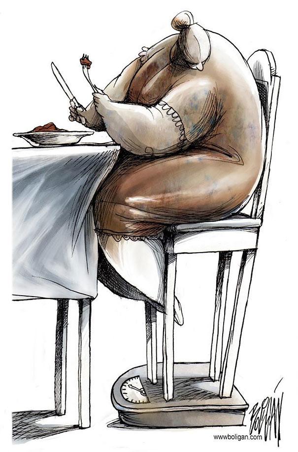 Angel Boligan surrealisticke karikatury 11