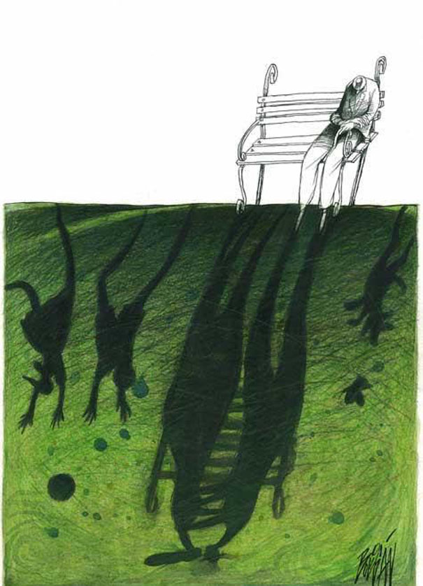 Angel Boligan surrealisticke karikatury 17