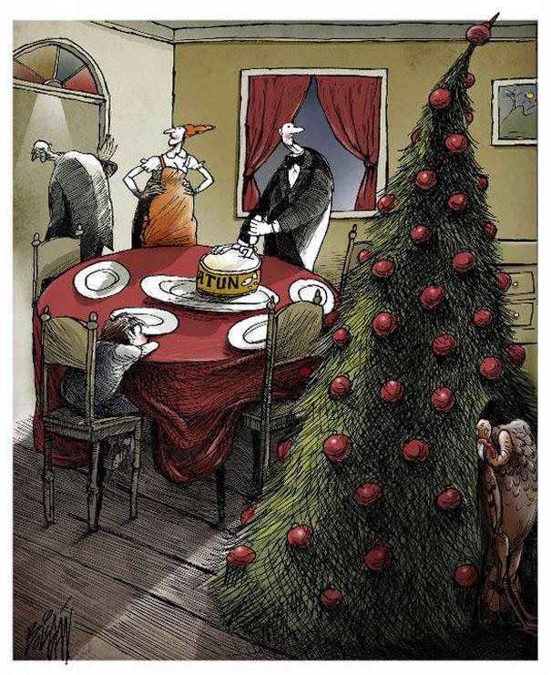 Angel Boligan surrealisticke karikatury 19