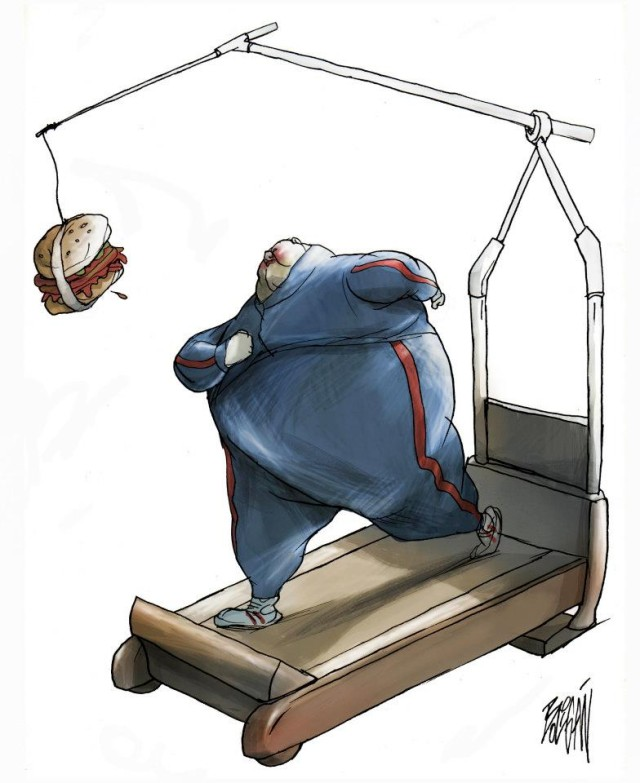 Angel Boligan surrealisticke karikatury 21