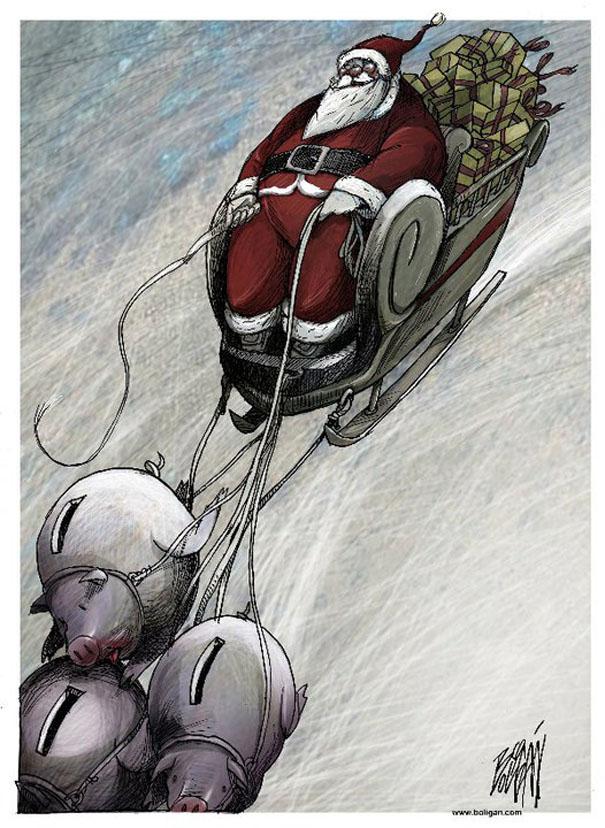 Angel Boligan surrealisticke karikatury 22