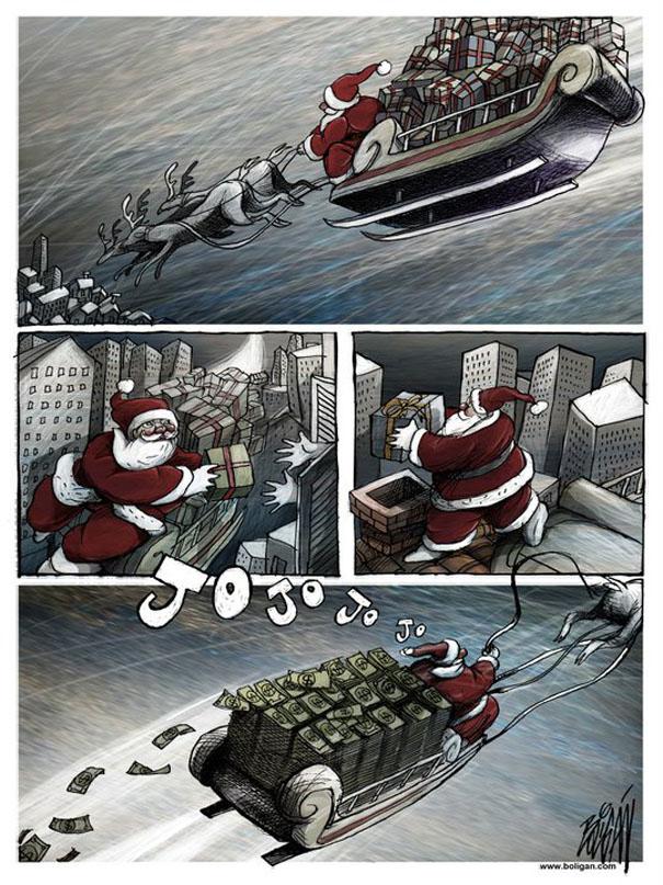 Angel Boligan surrealisticke karikatury 24