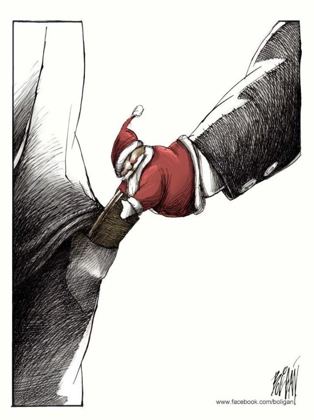 Angel Boligan surrealisticke karikatury 25