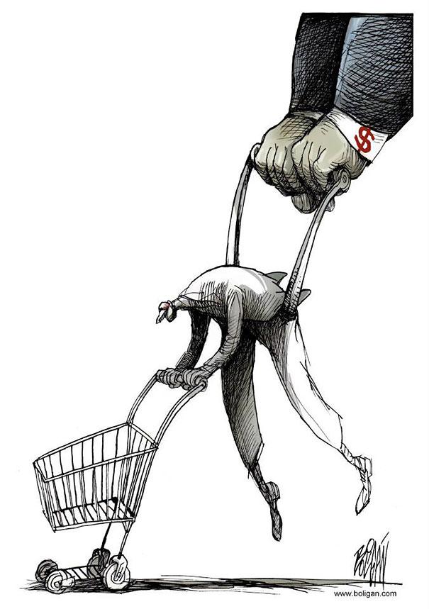 Angel Boligan surrealisticke karikatury 3