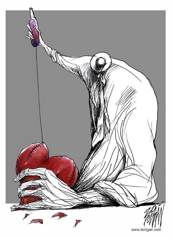 Angel Boligan surrealisticke karikatury 4