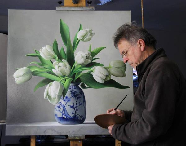 Pieter Wagemans a jeho realisticke malby 1
