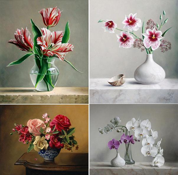 Kvetinové kompozície od maliara Pietra Wagemansa 16