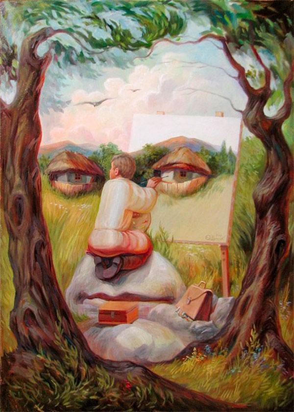 opticke iluzie Oleg Shuplyak 10