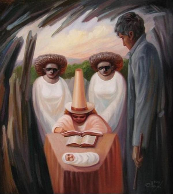 opticke iluzie Oleg Shuplyak 11