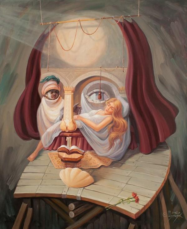 opticke iluzie Oleg Shuplyak 12