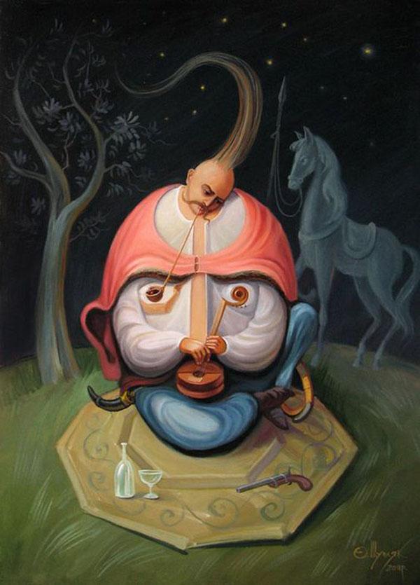 opticke iluzie Oleg Shuplyak 19