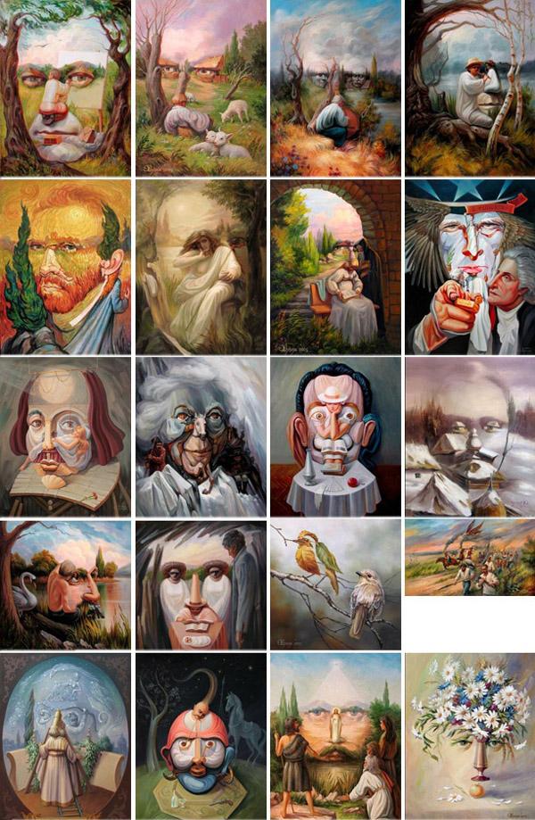 opticke iluzie Oleg Shuplyak 21
