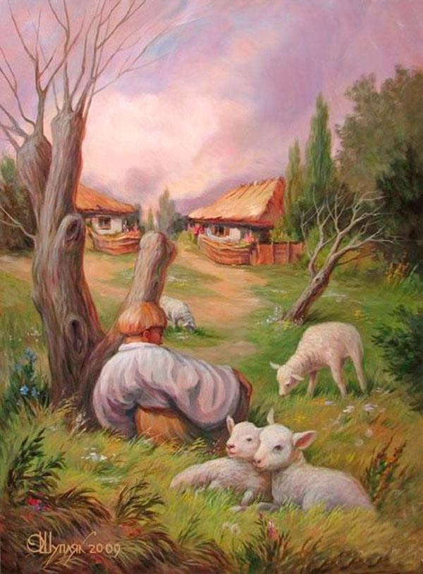 opticke iluzie Oleg Shuplyak 4