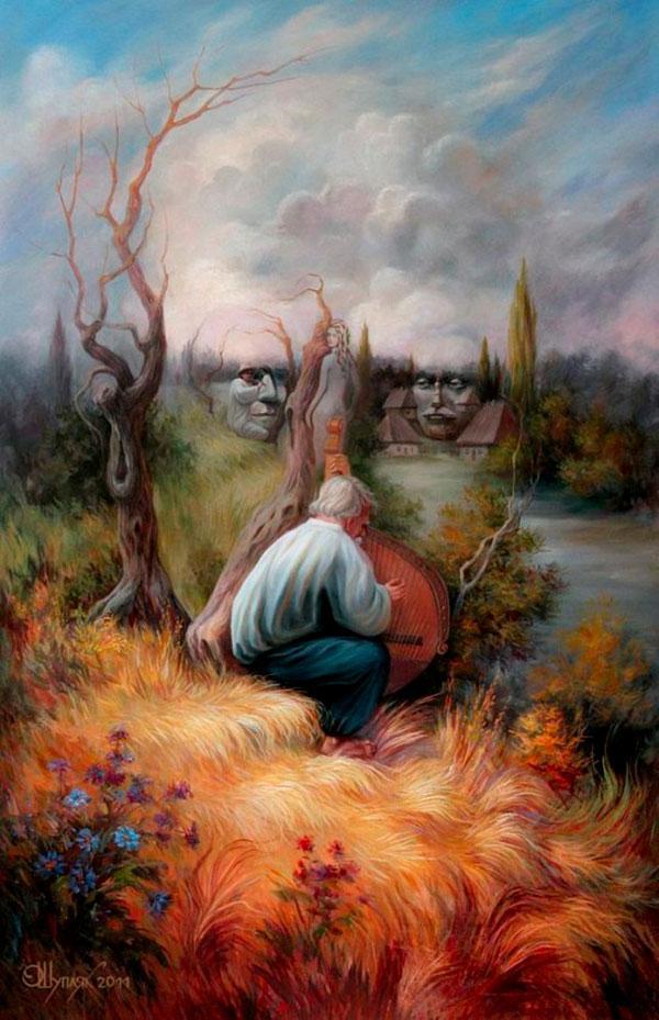 opticke iluzie Oleg Shuplyak 8